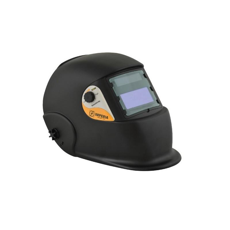 Μάσκα ηλεκτροσυγκόλησης με ηλεκτρονικό φίλτρο & oπτικό πεδίο 95x43 mm, Imperia