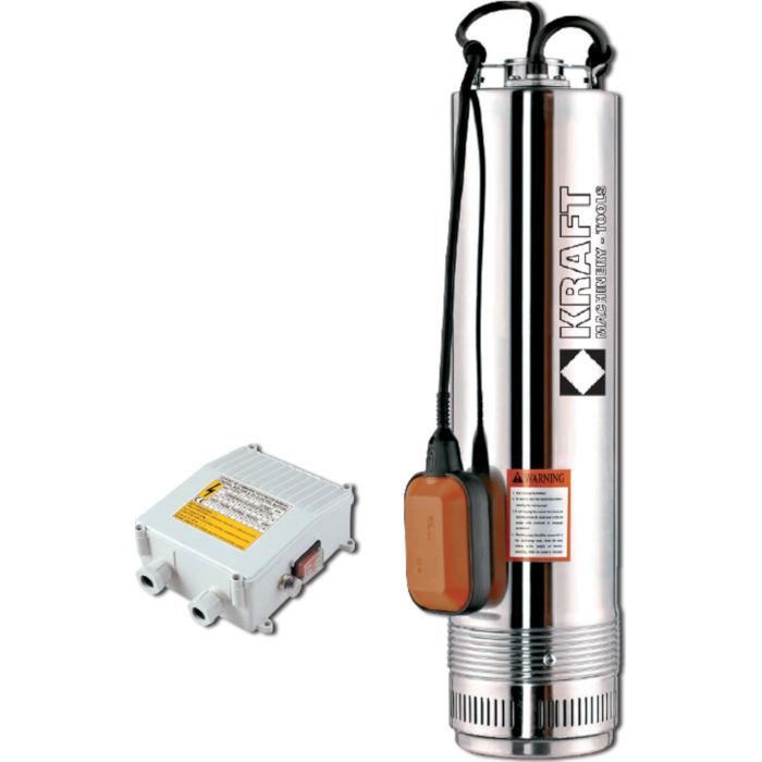 Υποβρύχια αντλία πηγαδιών 1100W SCM6, Kraft (63523)