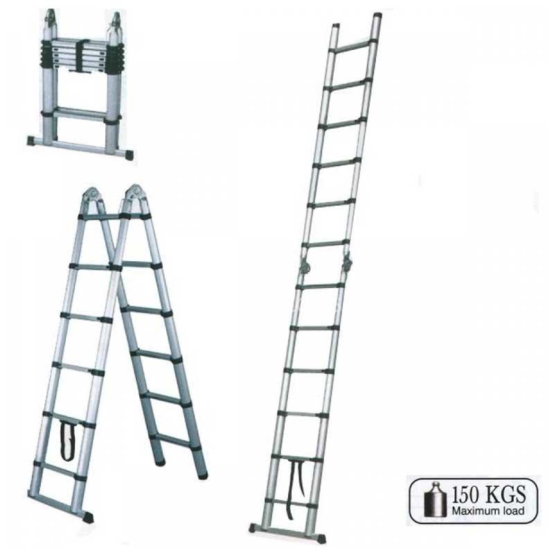 Τηλεσκοπική Αρθρωτή Σκάλα Αλουμινίου , Bulle 631165