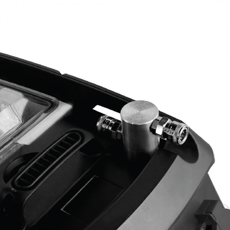 Σκούπα για χρήση με ηλεκτρικά εργαλεία & εργαλεία αέρος 1600W, Bulle (605265)