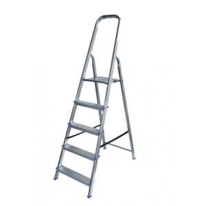 Σκάλα αλουμινίου 4+1 σκαλιών SA4+1