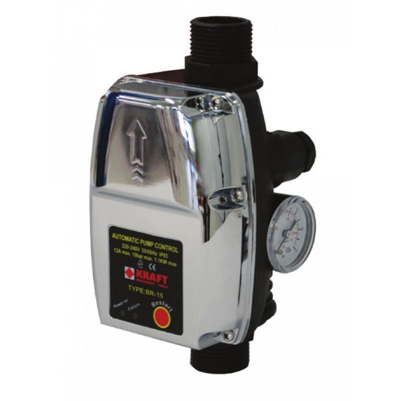 Ηλεκτρονικός ελεγκτής πίεσης νερού BR-15
