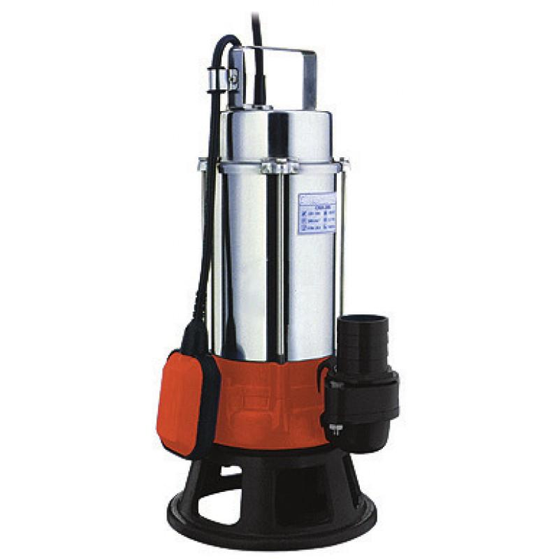 Ανοξείδωτη υποβρύχια αντλία ακαθάρτων υδάτων βαρέως τύπου 750W CMDm-15