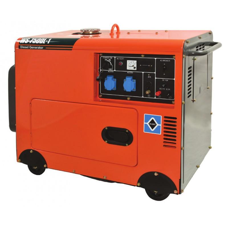 Ηλεκτρογεννήτρια πετρελαίου 6500W WS8500L-1