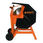 Kraft 691067 Ηλεκτρικό Δισκοπρίονο Κοπής Καυσόξυλων 3000 Watt