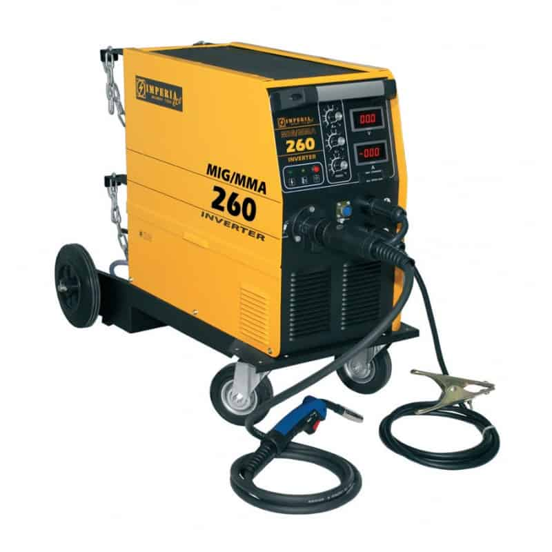 Ηλεκτροσυγκόλληση Inverter MIG/MMA 250A MIG260