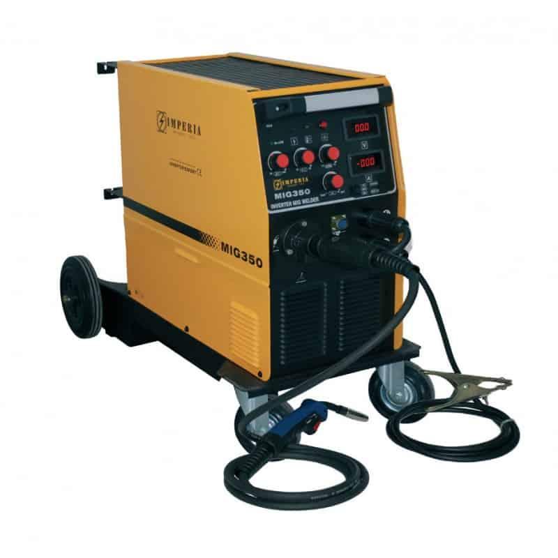 Ηλεκτροσυγκόλληση Inverter MIG/MMA 350A MIG350