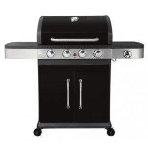 Ψησταριά BBQ υγραερίου Premium με 4 καυστήρες και 1 πλαϊνή εστία