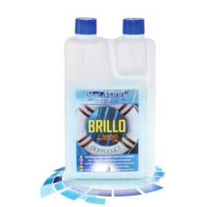 Shampoo με κερί για πολυεστερικά και φουσκωτά Brillo 03101, Blue Marine