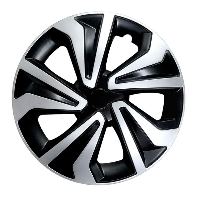 """Τάσια αυτοκινήτου 15"""" Silver Rapide Σετ 4 τμχ Carbon BWC1030"""