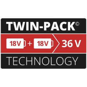 Σετ μπαταρίες PXC-Twinpack 4,0 Ah, Einhell