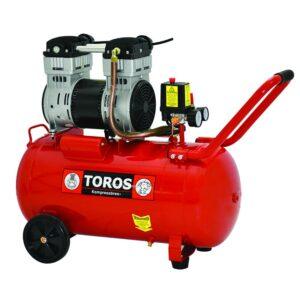 Αεροσυμπιεστής 1.55Hp Oil Free/Silent 50 Lt TOROS