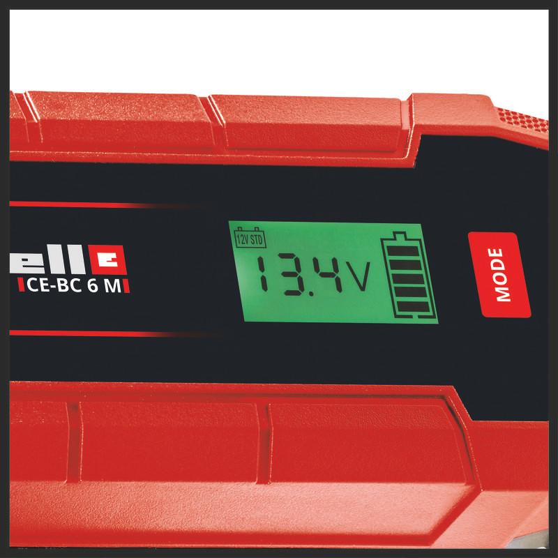 Φορτιστής μπαταρίας CE-BC 6 M, Einhell