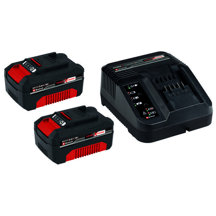 PXC-Starter-Kit 2x 3,0Ah & 30min PXC Kit, Einhell