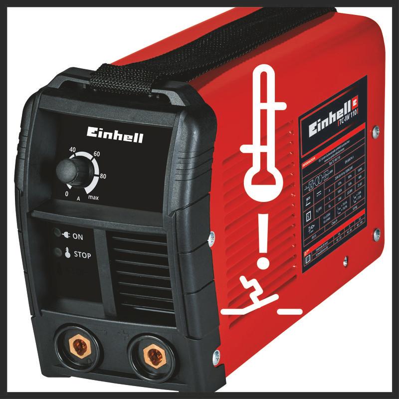 Ηλεκτροσυγκόλληση Inverter TC-IW 110, Einhell