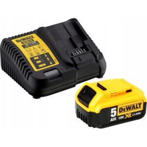 Σετ Φορτιστή DCB115 και μπαταρίας 18V 5.0Ah DCB115P1, Dewalt