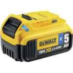 Μπαταρία XR Li-ion 18V 5.0Ah Με Bluetooth DCB184B, DeWALT