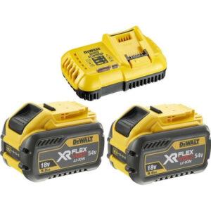 Σετ φορτιστής και 2 μπαταρίες DCB118X2-QW 18V/54V 9.0Ah EL DCB118X2, DeWALT