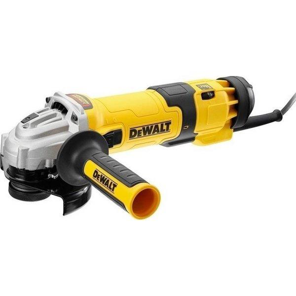 Γωνιακός τροχός με ρυθμιζόμενη ταχύτητα Νo-volt λειτουργία 1200w 115mm DWE4246, Dewalt
