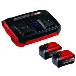 PXC-Starter-Kit σετ ταχυφορτιστής και 2 μπαταρίες λιθίου 18V 5,2Ah 4512108, Einhell