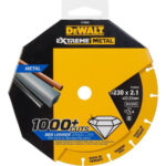 Δίσκος κοπής inox διαμαντέ Extreme 230 X 1,5 mm DT40255, Dewalt