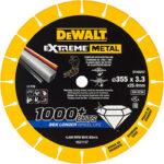 Δίσκος κοπής inox διαμαντέ Extreme 355×25.4×3.3mm DT40257, Dewalt