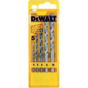 Σετ τρυπάνια δομικών υλικών DT6952, Dewalt