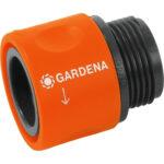 """Ταχυσύνδεσμος με αρσενικό σπείρωμα 3/4"""" 02917-20, Gardena"""