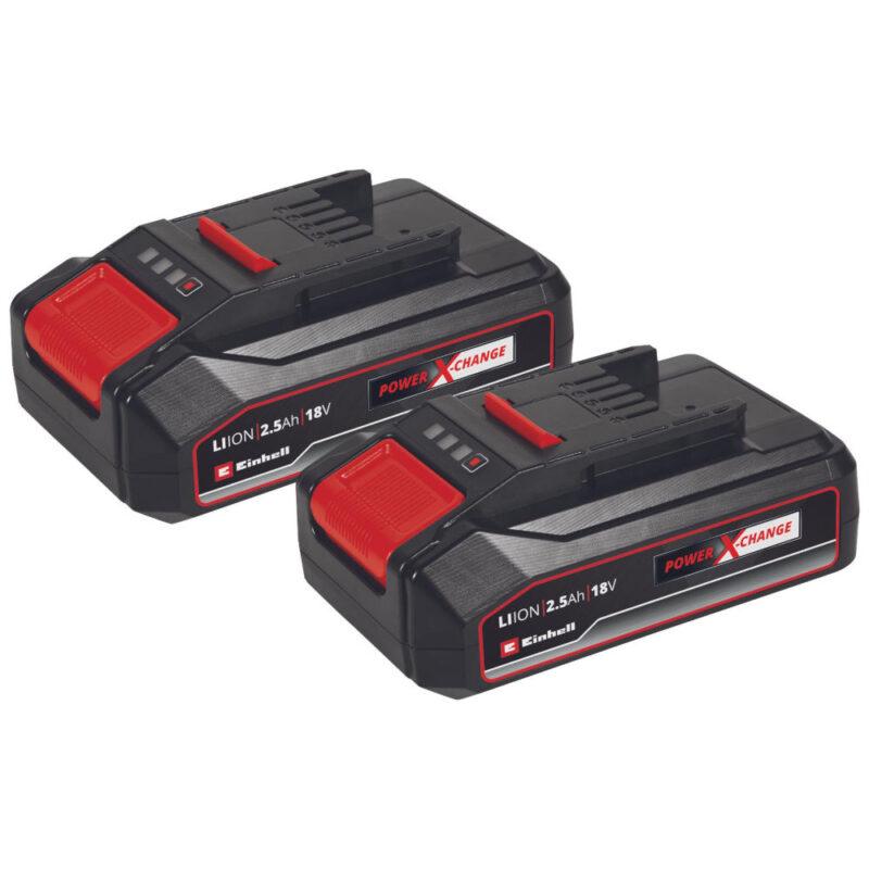 Μπαταρία 2x 18V 2,5Ah PXC-Twinpack CB 4511524, Einhell