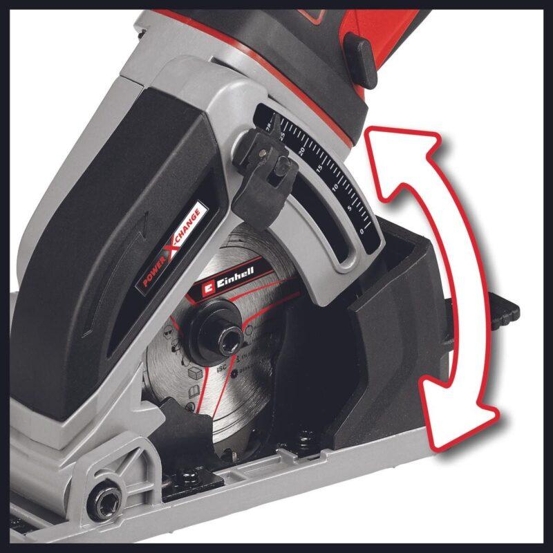 Μίνι δισκοπρίονο χειρός μπαταρίας TE-CS 18/89 Li - Solo 4331100, Einhell