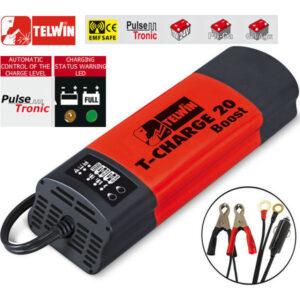 Ηλεκτρονικός φορτιστής - συντηρητής μπαταρίας 12/24V T-CHARGE 20 Boost 807563, Telwin