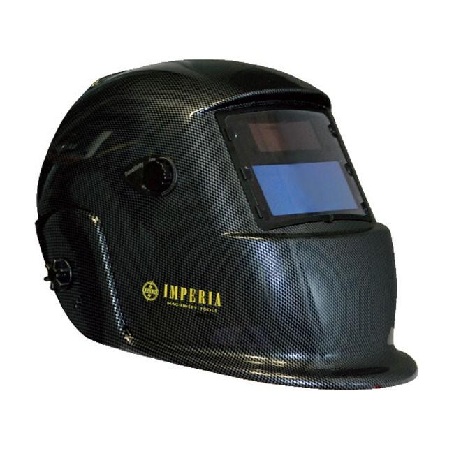 Μάσκα ηλεκτροσυγκόλησης με ηλεκτρονικό φίλτρο & οπτικό πεδίο 98x43 mm, Imperia