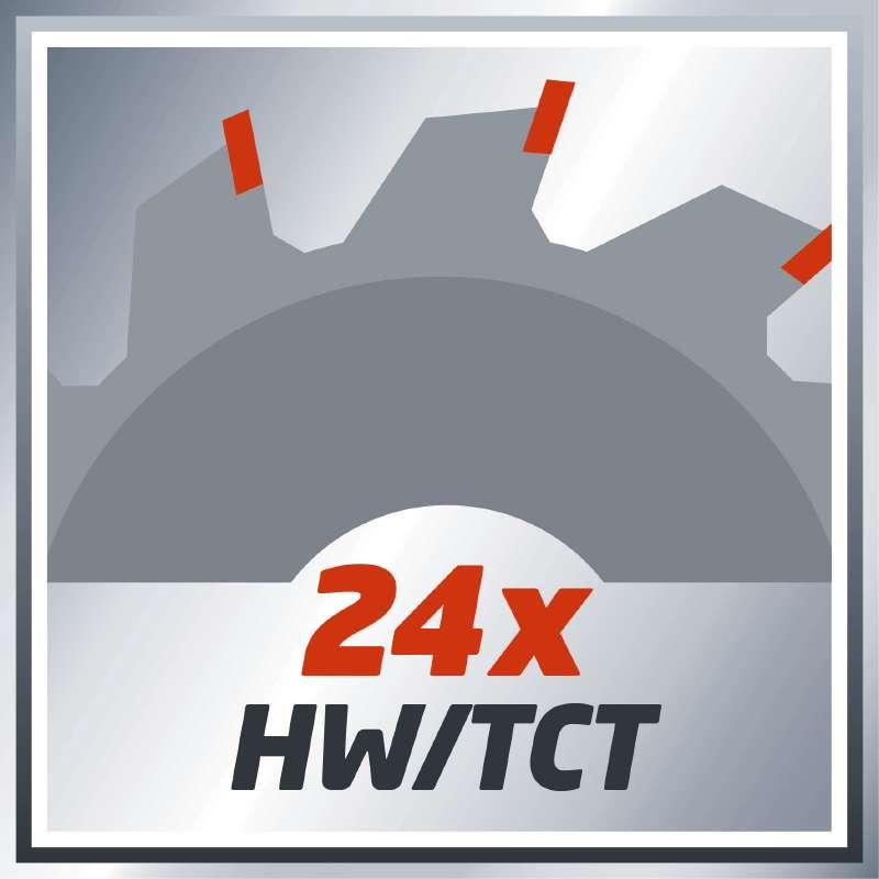 Δισκοπρίονο χειρός TC-CS 1200, Einhell