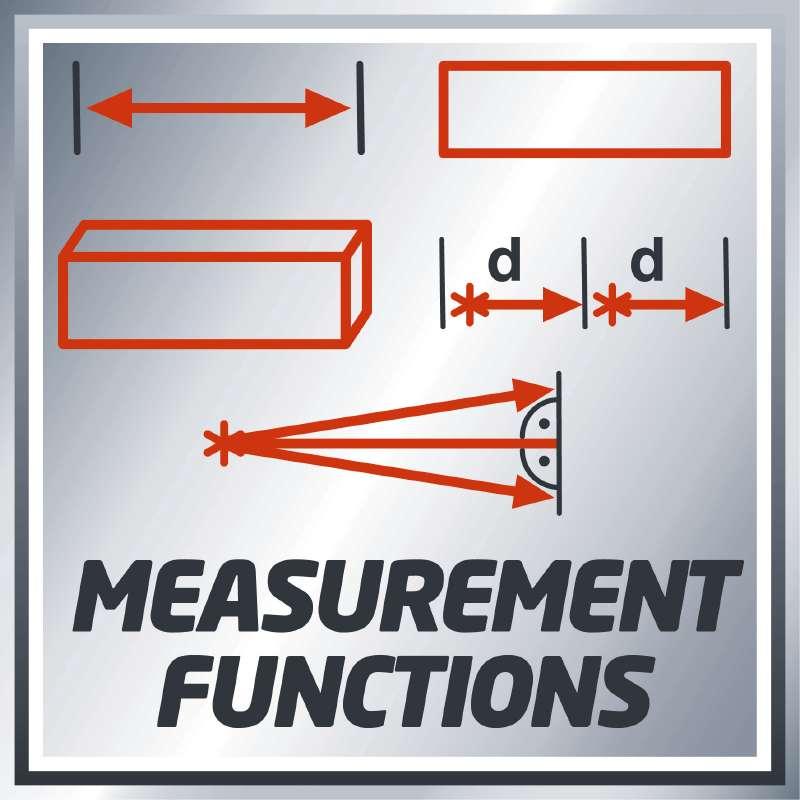 Laser Measuring Tool TC-LD 50, Einhell