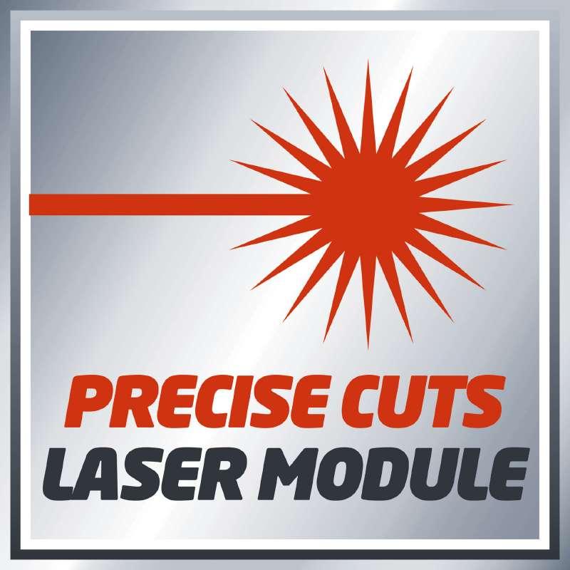 Φαλτσοπρίονο με Laser TE-MS 2112 L, Einhell