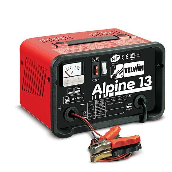 Φορτιστής μπαταριών Alpine 13, Telwin