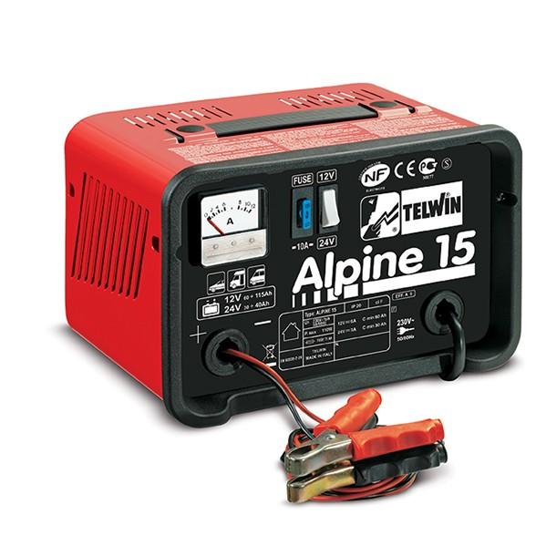 Φορτιστής μπαταριών Alpine 15, Telwin