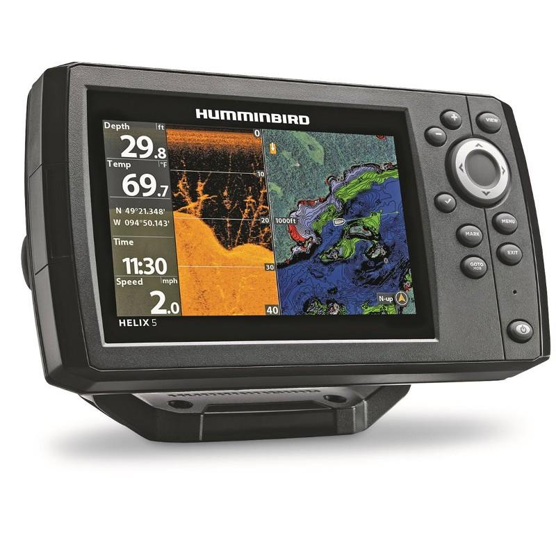 Bυθόμετρο, Helix 5 DI GPS, Humminbird