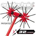 Eλαιοραβδιστικό Carbon Compact X.32, Agrotechnic