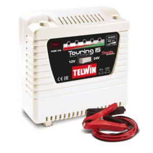 Φορτιστής μπαταρίας αυτοκινήτου Touring 15, Telwin