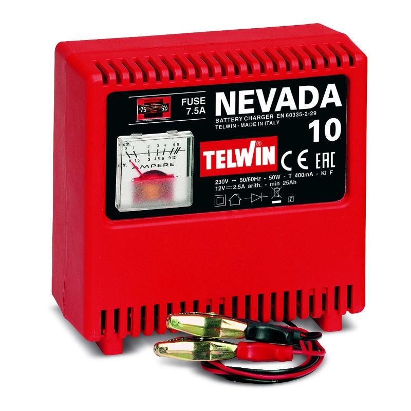 Φορτιστής μπαταριών Nevada 10, Telwin