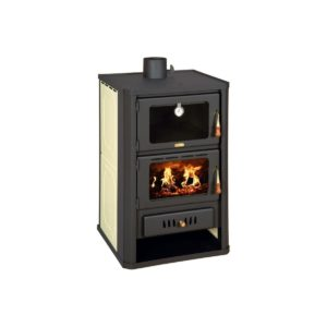 Ατσαλένια Ξυλόσομπα με Boiler Prity FG W15