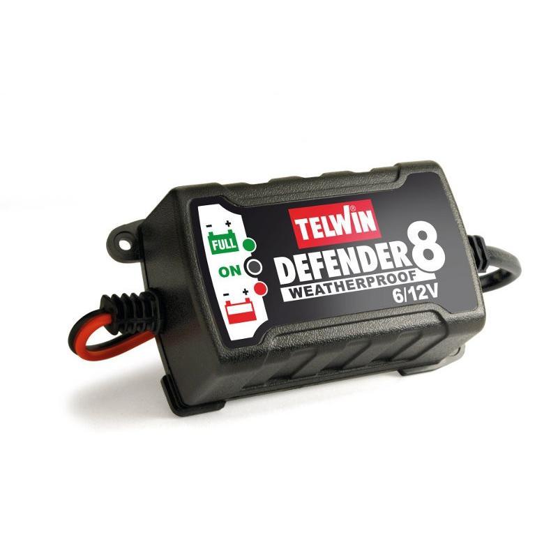 Ηλεκτρονικός φορτιστής συντηρητής Defender 8, Telwin