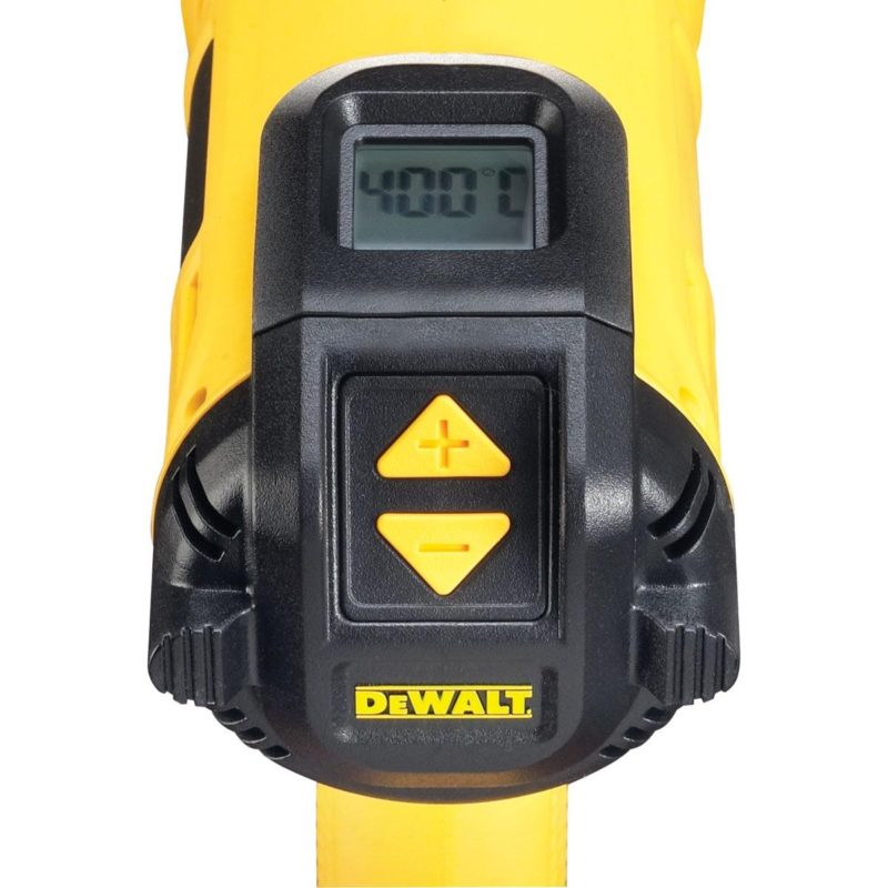 2000W Πιστόλι Θερμού Αέρα Με Ψηφιακή Οθόνη Led, DeWALT D26414