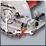 Δισκοπρίονο χειρός TC-CS 1400, Einhell