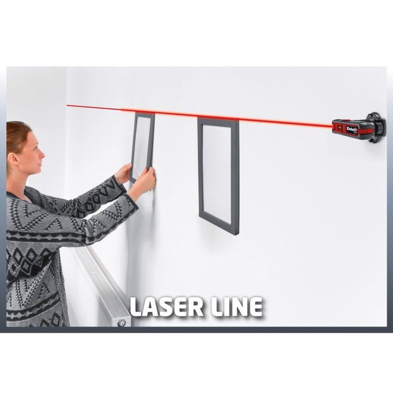 Αλφάδι σταυρωτό Laser TC-LL 2, Einhell