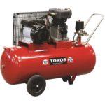 Αεροσυμπιεστής με ιμάντα Red Series ZA65-100 100lt 3hp, Toros