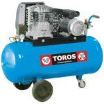 Αεροσυμπιεστής N4-270C-4T 400V/50Hz 270lt 4hp, Toros