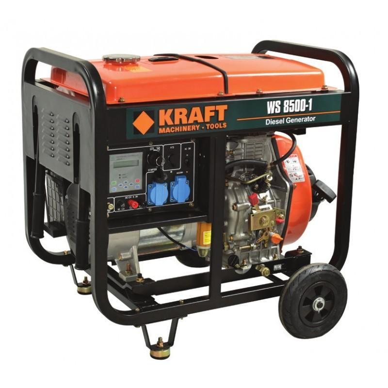 Ηλεκτρογεννήτρια πετρελαίου μονοφασική WS 8500-1, Kraft