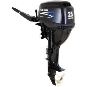 Εξωλέμβια μηχανή κοντόλαιμη 25Hp Parsun, με μίζα, χειριστήριο, τιλτ